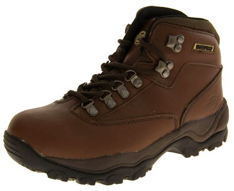 rugged strong leather rugged warm tough waterproof grippy strong boots shoes size 3 8 ebay
