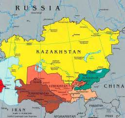 Map Central Asia by Great Games Local Rules The Hollings Center For