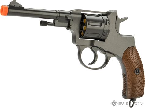 Airsoft Gun Revolver Wingun wingun nagant m1895 airsoft co2 revolver evike