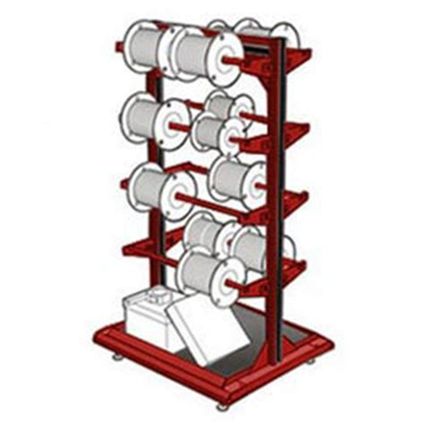 Racks And Reels by Bulk Rack Reel Rack Dispensers Rousseau Wire Spool