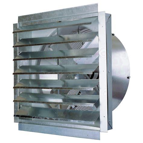 industrial exhaust fan with shutter maxxair exhaust fan with shutter 30in 1 2 hp 5 500