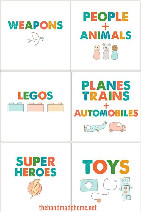 label templates for toy boxes 17 best images about organization and storage on pinterest