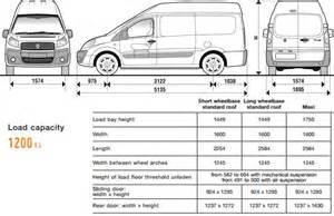 Fiat Scudo Dimensions Recommended Innolift Model For Fiat Scudo 3rd