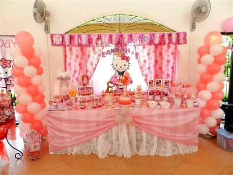 Mickey And Minnie Mouse Home Decor Hello Kitty Theme Party Eannah S 1st Birthday Leene D