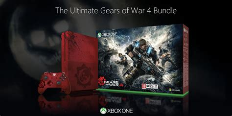 Kaset Xbox One Gears Of War 4 2tb gears of war 4 xbox one s limited edition bundle