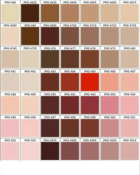 Mixer Warna Pink nuancier pantone marron beige d 233 co nuanciers