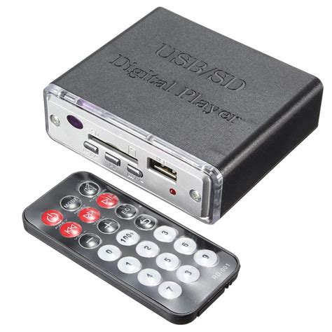 Usbsd Digital Player Silver new arrival 12v mini car motocycle stereo lifier led usb sd digital player mp3 in
