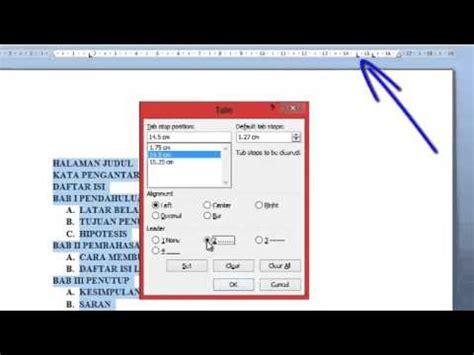 cara membuat daftar isi di word 2010 secara otomatis cara membuat daftar isi otomatis di word 2013 free mp3