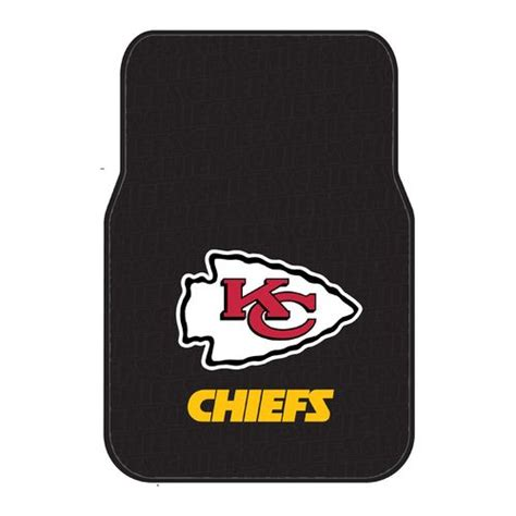 Northwest Rubber Mats by The Northwest Company Kansas City Chiefs Front Car Floor