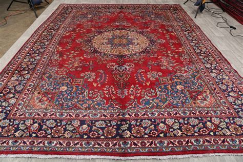 Rugs 10 X 12 Clearance by Clearance 10 X12 Mashad Area Rug Wool