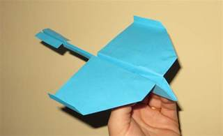 How To Make A Cool Paper Airplane - how to make cool paper airplanes that fly far and