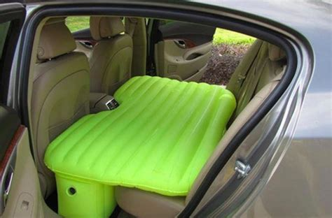 back seat blow up bed inflatable mattress turns the back seat of your car into a