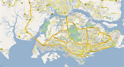 map of maps of singapore detailed map of singapore in