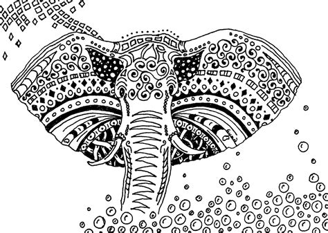 mandala coloring book south africa free coloring page coloring africa elephant simple
