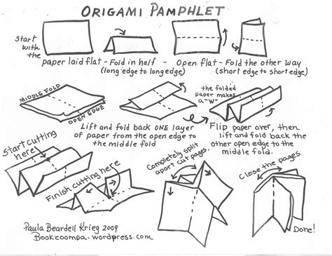 How To Make Origami Books - study how to make an origami book 2016