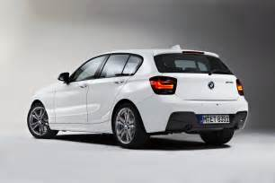 Bmw I New Bmw 114i With 1 6l Turbo And M135i Presented In Five