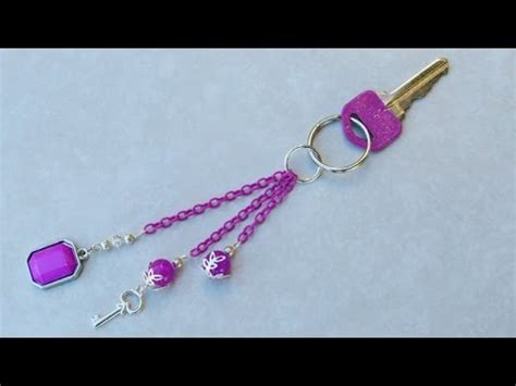 how to make a design how to make a beaded key chain