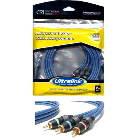 Philips Component Cable 3m Swv4125s c cs1cv 3m 10 ft component rca cable green blue ultralink cs1 contractor series