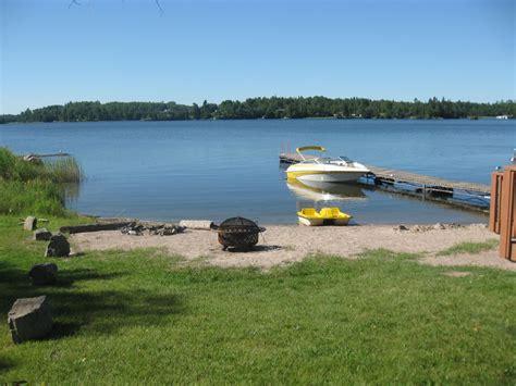 pedal boat kenora gorgeous beachfront cottage on lake homeaway keewatin