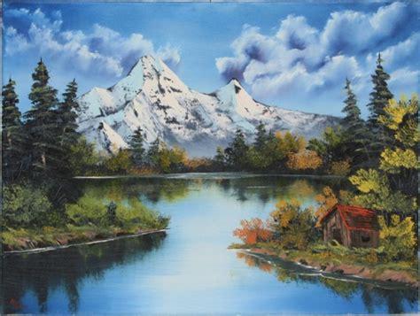 bob ross painting reflections landscape classes landscape painting classes