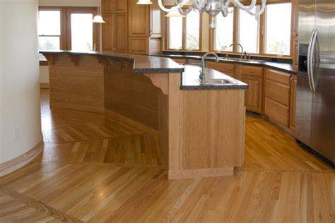 wood floor ideas for kitchens 53 charming kitchens with light wood floors page 7 of 11
