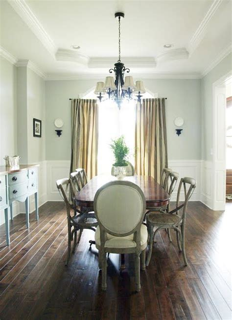 sherwin williams silver strand paint  family room