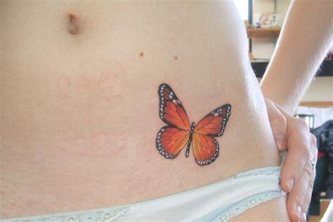 tattoo butterfly hip pin butterfly hip monarch tattoo a little watercolour of