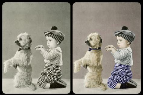 how to add color to a black and white photo how to restore color to a black and white photo using