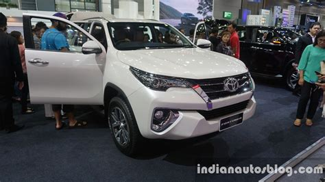 toyota motors india 2016 toyota fortuner imported to india for r d report