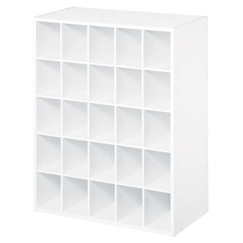 Closetmaid 25 Cube Shoe Organizer closetmaid 8506 25 cube organizer white 089066085060 69 99