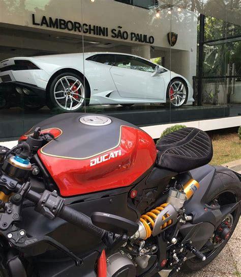Motorrad Sitzbank Custom by Ducati Panigale Custom Cafe Racer Cars Diy