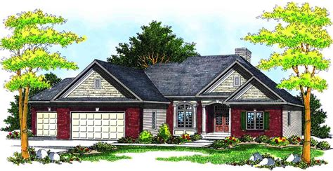 traditional ranch house plans traditional ranch house plan 89156ah architectural