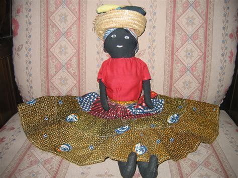 black jamaican doll collectible black jamaican 17in cloth doll for sale