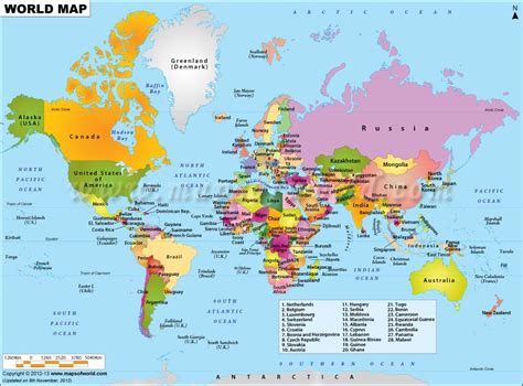 continent map with country names world map displaying various islands oceans continents