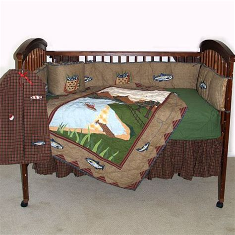 fishing crib bedding gone fishing crib bedding for the baby