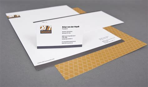 Award Winning Letterhead Corporate Identity Design Award Winning
