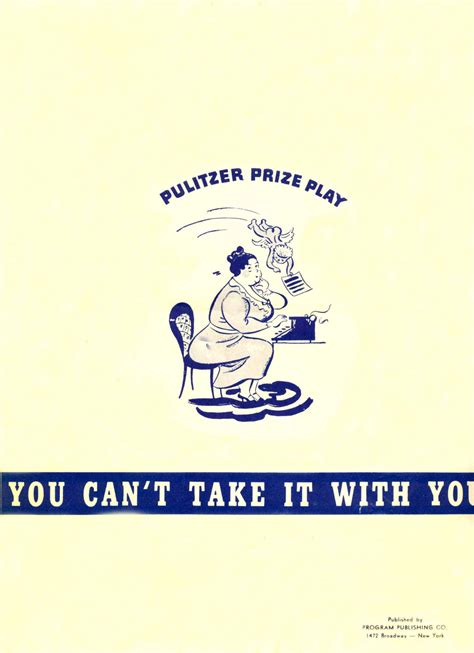 you cant take an you can t take it with you 1938