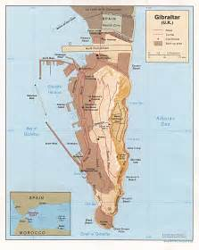 map og maps of gibraltar detailed map of gibraltar in