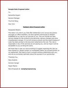 business letter example proposal letter how to write a