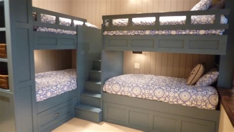 Built In Bunk Beds Pretty Bunk Bed With Stairs In Traditional With Bunk Beds Ideas Next To Corner Bunk Beds