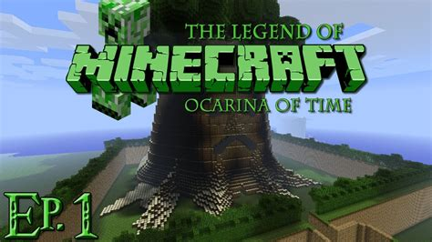 minecraft legend of zelda map youtube the legend of minecraft ocarina of time partie 1 youtube