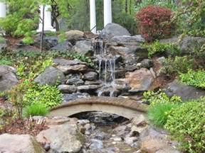 backyard waterfalls 75 relaxing garden and backyard waterfalls digsdigs