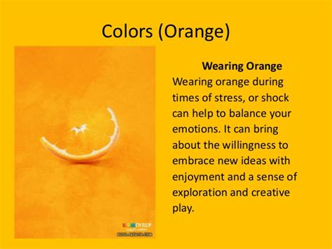 meaning of the color orange colors meaning