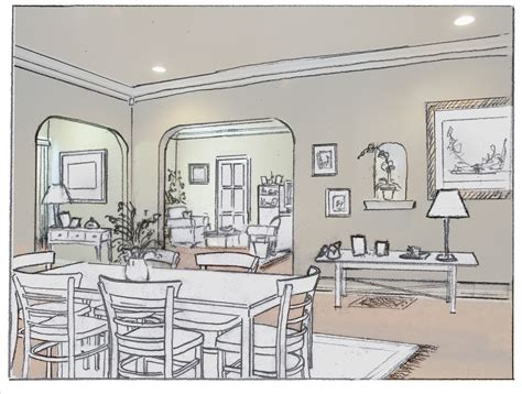 sketch room besf of ideas modern home design ideas in room sketch