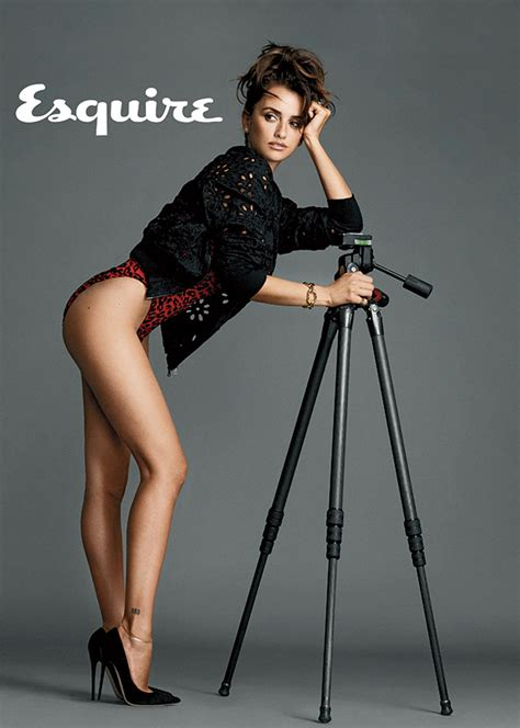 Pen Lope Cruz Lue Femme La Plus Sexy En Par Esquire