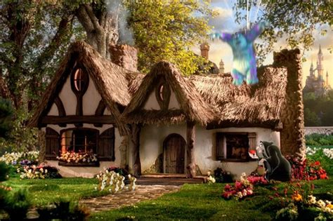 Disney Snow White Cottage by 15 Real Inspirations Disney Architectures