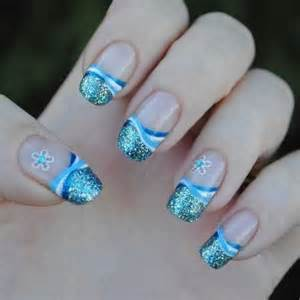 blue nail designs nails frenzy