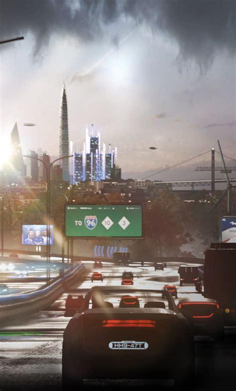 detroit  human city view vehicles