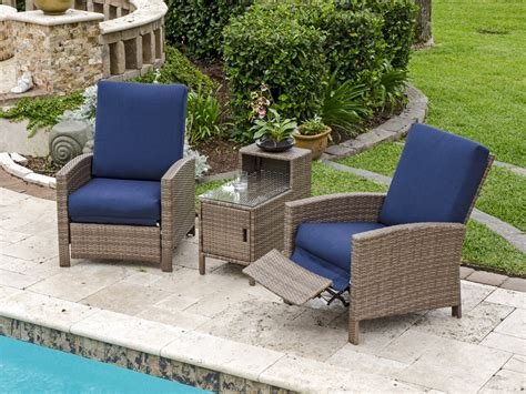 wicker reclining patio chair wicker patio recliner chair patio design ideas