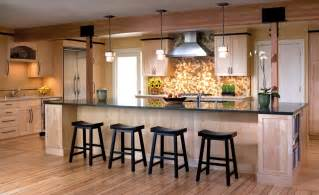 large kitchen island designs